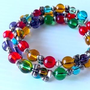 Jelly Bracelet Rainbow of colors